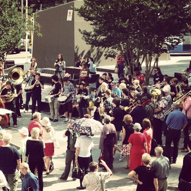 international jazz day parade